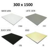 Szkło do tylnej ścianki 30x150 MCJ BEND GW 30150/STWH satin/gold