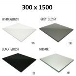 Szkło do tylnej ścianki 30x150 MCJ BEND GW 30150/WH glossy/mirror
