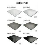 Szkło do tylnej ścianki 30x70 MCJ ZERO/FLAT/BEND GW 3070/GMWH glamour/lienzo