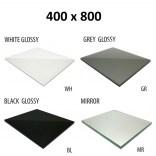 Szkło do tylnej ścianki 40x80 MCJ ZERO/FLAT/BEND GW 4080/WH glossy/mirror