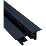 Szynoprzewód Nowodvorski PROFILE RECESSED TRACK BLACK 2 METERS 9015