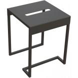 Taboret stolik łazienkowy Deante MOKKO NERO ADM N51T czarny