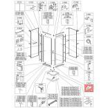 Trzymacz prawy Sanplast CLII 660-C1870