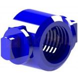 Tulejka z gwintem niebieska KK-POL SP0/307/N