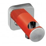Uchwyt do słuchawki ze ściennym przyłączem wody Tres BARRAS Y DUCHA 200.180.01.RO czerwony