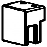 Uchwyt do szyby wspornika EU 6 mm Radaway 004-500001401