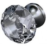 Uchwyt meblowy kryształowy Oristo MONTEBIANCO kryształowy OR47-A-U-3-97