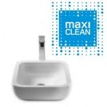 Umywalka nablatowa 40x40 Roca KHROMA A32765400M Maxi Clean