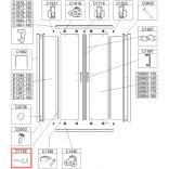 Uszczelka pionowa Sanplast 660-C1726