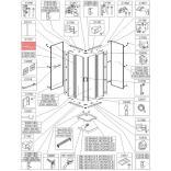 Uszczelka pionowa Sanplast CLII 660-C1772
