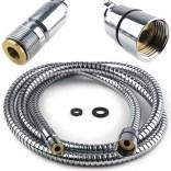 Wąż do baterii kuchennej mosiężny 150 cm Omnires 062CR