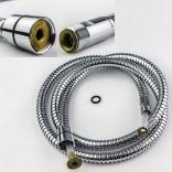 Wąż do baterii zlewozmywakowej oraz baterii 3-otworowych wannowych 150 cm Paffoni 618201