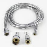 Wąż metalowy do baterii zlewozmywakowej stojącej z wyciąganą słuchawką Deante XDC00VCRM