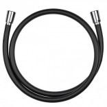 Wąż natryskowy 125cm Kludi SUPARAFLEX SILVER 6107187-00 czarny mat