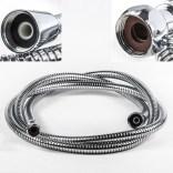 Wąż natryskowy metalowy 1/2x3/8 długość 2 m do baterii VIENDA 3-otworowej Oras 241114