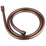 Wąż prysznicowy 150 cm bezskrętny Omnires 028 ORB miedź antyczna