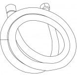 Wąż słuchawki do baterii kuchennej ALTO SATI AS 6106 / TINO T 6106 Novoterm 105020003