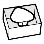 Wkładka ceramiczna Roca SITE FRONTAL A389603000
