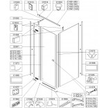 Wkładka ochronna 6 mm do kabiny prysznicowej Sanplast 660-C1495
