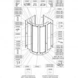 Woreczek montażowy do KC-PK4 / ZDPlus Sanplast 660-CWM-037