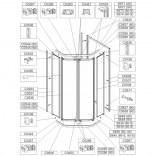 Woreczek montażowy do KT-PK4 / ZDPlus Sanplast 660-CWM-033