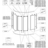Woreczek montażowy do KWAL(P) / ZDPlus 85X160 Sanplast 660-CWM-044