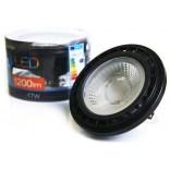 Żarówka LED QR111 G5.3 17W 3000K Azzardo  AZ1108 czarna