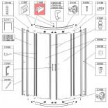 Zaślepka Sanplast TX5 660-C1998 biew