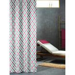 Zasłona prysznicowa tekstylna 180x200 cm Sealskin DIAMONDS 235201346 multi