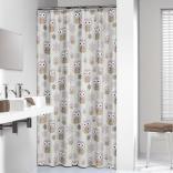Zasłona prysznicowa tekstylna 180x200 cm Sealskin OWL 210871365 wielokolorowa