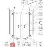 Zawias Sanplast FREEII 660-C2208 cm