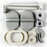Zawias do deski regulowany krótki z tworzywa do deski Sani-Plast KASKADA-CHAMPION 019/A