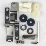 Zawiasy i uchwyty montażowe pokrywy bidetowej DAMA SENSO COMPACTO & SQUARE Roca A802910560 / AI0003500R