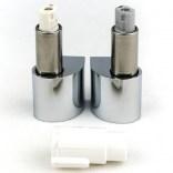 Zawiasy wolnoopadające chromowane do desek GAP, MERIDIAN-N, DAMA-N Roca AI0004800R / AI0012400R