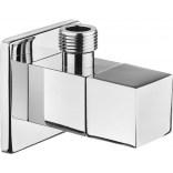 Zawór kątowy kwadratowy z głowicą ceramiczną i filtrem 1/2 - 3/8 Deante VFA B62S
