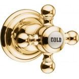 Zawór podtynkowy COLD Kludi ADLON 518154520 złoty