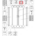 Zderzak środkowy kpl Sanplast TX5 660-C1716