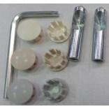Zestaw montażowy bidetu  element metalowy Villeroy & Boch SENTIQUE 92182500