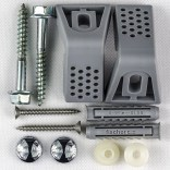 Zestaw montażowy do półpostumentów, misek kompaktowych, misek i bidetów wiszących oraz pisuarów Koło A3569