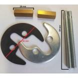 Zestaw montażowy pod baterie Fonte  ZFIS 048