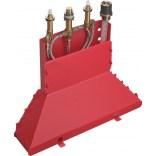Zestaw podstawowy do 4-otworowej baterii wannowo-natryskowej Hansgrohe Axor 13444180