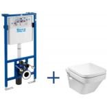 Zestaw podtynkowy DUPLO z miską WC wiszącą Dama-N Roca DUPLO A89009000D