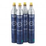 Zestaw startowy butli CO2 425 g (4 sztuki) Grohe BLUE 40422000
