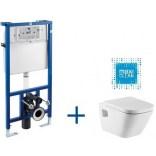Zestaw stelaż Pro + miska WC podwieszana Roca Gap A8900900MG Maxi Clean
