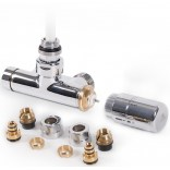 Zestaw zintegrowany kątowy termostatyczny z rurką zanurzeniową LEWY WRZT5G5-CR chrom