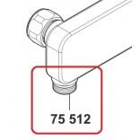 Złączka do baterii prysznicowej E2 Kludi 7551205-00