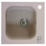 Zlewozmywak 1-komorowy bez ociekacza Deante REFLEX ZUX 7103 piaskowy