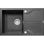 Zlewozmywak granitowy 1-komorowy 78x49 z ociekaczem Deante ANDANTE ZQN 2113 grafitowy