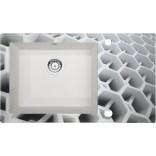 Zlewozmywak szklano-granitowy 86x50 Deante CAPELLA DIAMENT ZSC AC2C alabaster