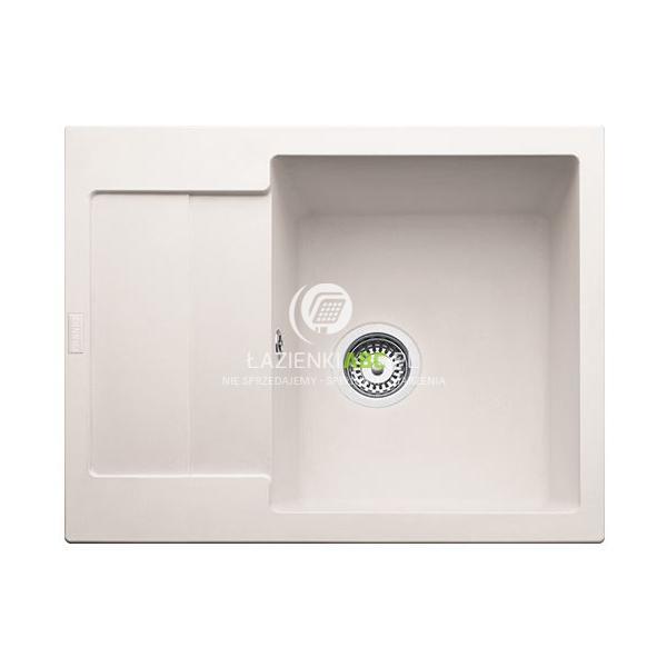zlewozmywak 1 komorowy z ociekaczem 62x50 cm mrg 611 62 franke maris bia y polarny. Black Bedroom Furniture Sets. Home Design Ideas